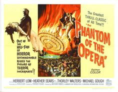 Cool Mo Dee: The Phantom of the Opera Movie Posters #movie #retro #poster