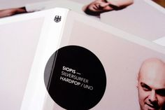 Graphic-ExchanGE - a selection of graphic projects #packaging #circle #photography #black