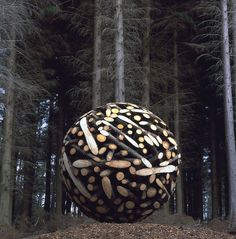 img_02101_0001 #wood #forest #sculpture #sphere