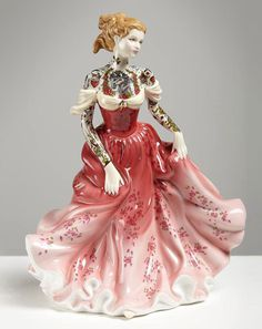 """Jessica Harrison """"Flash"""" @ LJ Gallery, Paris: 01.jpg #tattoo #ceramic #customised"""