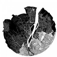 Places in the city emotionally 'closer' visualised and sonified by Kitchen Budapest #foursquare #openframeworks | CreativeApplications.Net