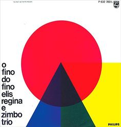 grain edit · Bossa Nova And The Rise Of Brazilian Music In The 1960s #album #geometry #design #color #shapes #cover
