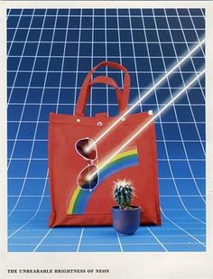 YaOLpq3Hdqkqg841YkPGWJZuo1_400.jpg (JPEG Image, 366x480 pixels) #grid #80s #poster #bag #neon