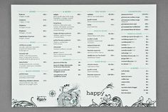 Happy #menu