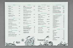 Happy #menu
