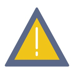 See more icon inspiration related to error, warning, attention, notice and signs on Flaticon.