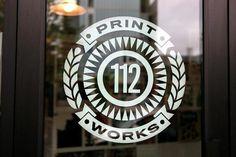 112 Print Works #logo