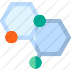 See more icon inspiration related to healthcare and medical, Molecular, tissues, biology, chemical, structure, education, chemistry, science, molecule and nature on Flaticon.