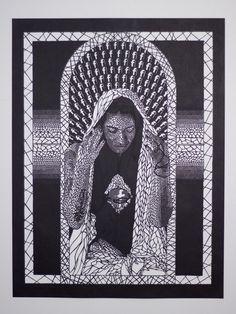 Carlo fantin paper art #paper #religion #art