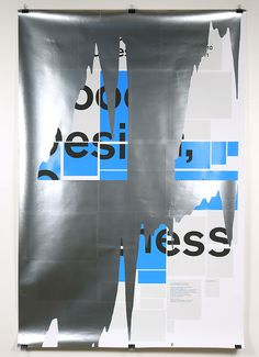 It\'s Nice That : French designers Helmo present some refreshingly experimental posters
