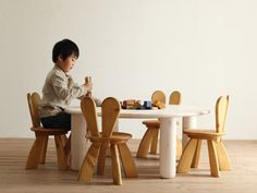 Environmentally friendly furniture for children, by Hiromatsu - www.homeworlddesign.com (13) #woodenfurniture #kidsfurniture