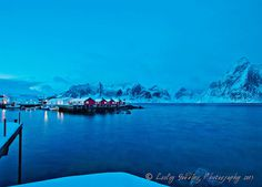 Hamnoy pre dawn in the Lofoten, Norway by Lesley Gooding #inspiration #nature #travel #landscape