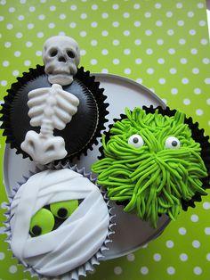 halloween cupcakes #cupcakes #halloween