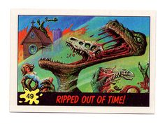 DINOSAURS ATTACK! #49 • RIPPED OUT OF TIME!