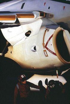 All sizes | Pont d'Envol. d2 | Flickr - Photo Sharing! #aircraft #jet #intake #navy #us