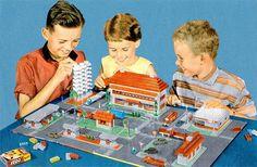 Brick Fetish #lego #1950s