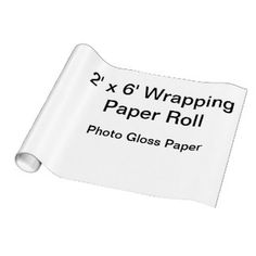 Photo Gloss Wrapping Paper
