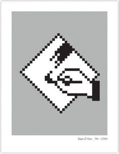 PAINT | Susan Kare Prints #apple #icons #poster