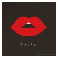 FFFFOUND! | Mouth Fuji | Flickr - Photo Sharing! #illustration