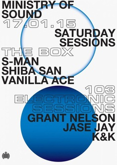 Ministry of Sound – Event Posters (unrealised concept)
