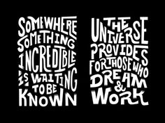 Carl Sagan & Abdul Kalam Rework #lettering #quote #berdis #type #typography