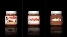 Minimalist Packaging | Feedgeeks #packaging #nutella #minimal