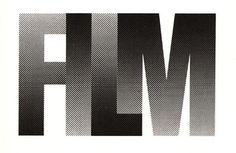 Baubauhaus. #type #film #aligned #no gaps