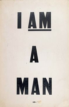 I Am a Man! - but does it float #graphics #poster