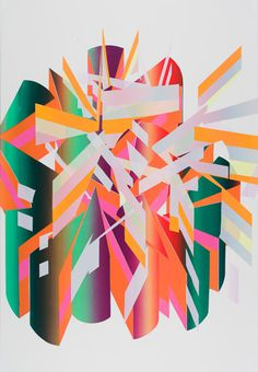 Jeffrey Dell | PICDIT #abstract #design #color #painting #art #colour