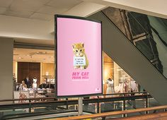 My Cat From Hell - Television Ad Campaign on Behance