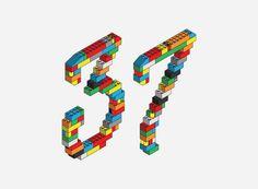 mkn design - Michael Nÿkamp #isometric #colors #pieces #legos #seven #three