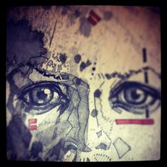 drawing - wip #eye #drawing #pen