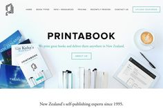 printabook #inspiration #creative #modern #responsive #design #unique #clean #minimal #web
