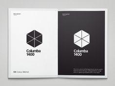 Columba 1400 - Colin Bennett #logo #print