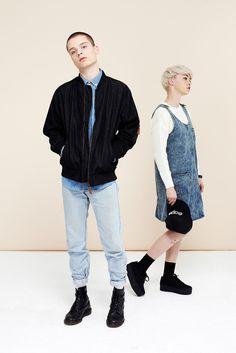 Denim Pinafore Dress Blue #photography #retail