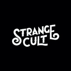 RAWZ #lettering #white #design #black #strange #cult #art #and #typography