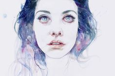 portrait #universe #girl #eyes #portrait #drug