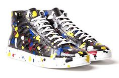 See How Dior Makes Its Hand Painted Sneakers #DiorHomme #DiorSavoirFaire #Dior #fashion #instafashion #sneakers