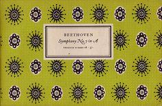 Penguin Scores no. 18: 1953 #garamond #pattern #musical #tschichold #jan #music #penguin #score