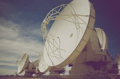 Eddy Duluc #photography #analog #space #antenna #eddy duluc