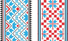 colorful, pixel, lace, patterns, knitting, cross stitch, clip art, weaving, two consecutively, mosaic