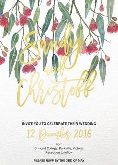 Golden Native - Wedding Invitation #paperlust #weddinginvitations #weddingstationery #weddinginspiration #card #paper #design #foilstamped