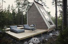 Micro Wooden Cabin Architecture – Fubiz™