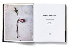 A New Napa Cuisine designed by MGMT.design #cookbook #food #layout #napa #book #mgmt #design