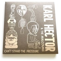 karl hector / stones throw #recordcover #vinyl #cardboard #illustration