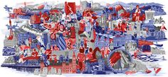 Red Bull on Behance #illustrated #scene #redbull #uk