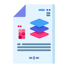 See more icon inspiration related to document, layer, files and folders, edit tools, graphic tool, graphics editor, graphic design, illustration, archive, file, interface and layers on Flaticon.