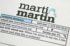 fresh_letterpress_business_cards_marti_martin.jpg 900 × 600 pixel #card #letterpress #business