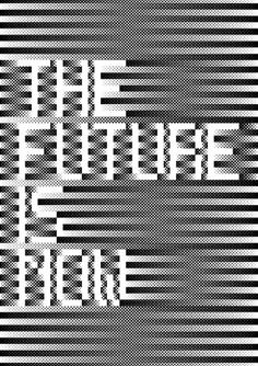 The Future is Now » MELVIN GALAPON #pattern #halftone #half tone