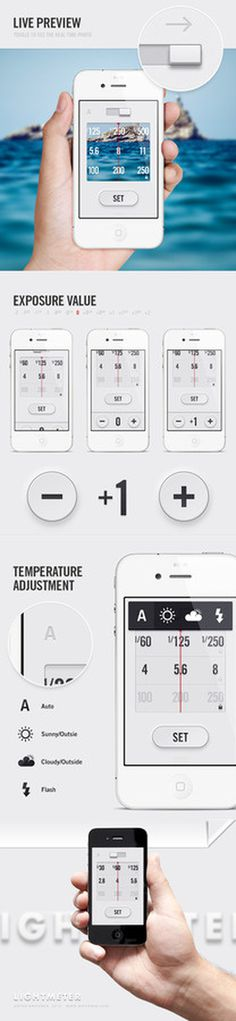 LightMeter App Anton Repponen #app